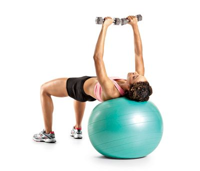ballon gym et exercices de musculation