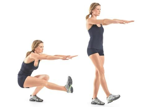 squat à une jambe