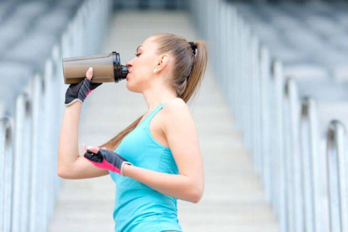 boisson sport femme
