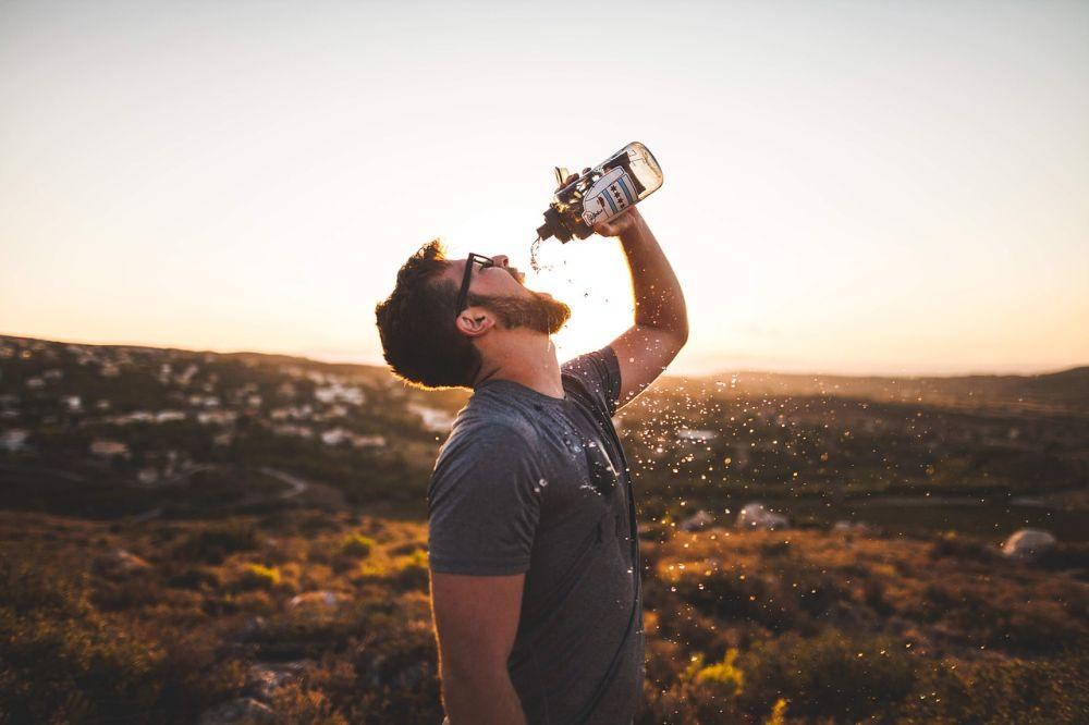 boire pendant le sport