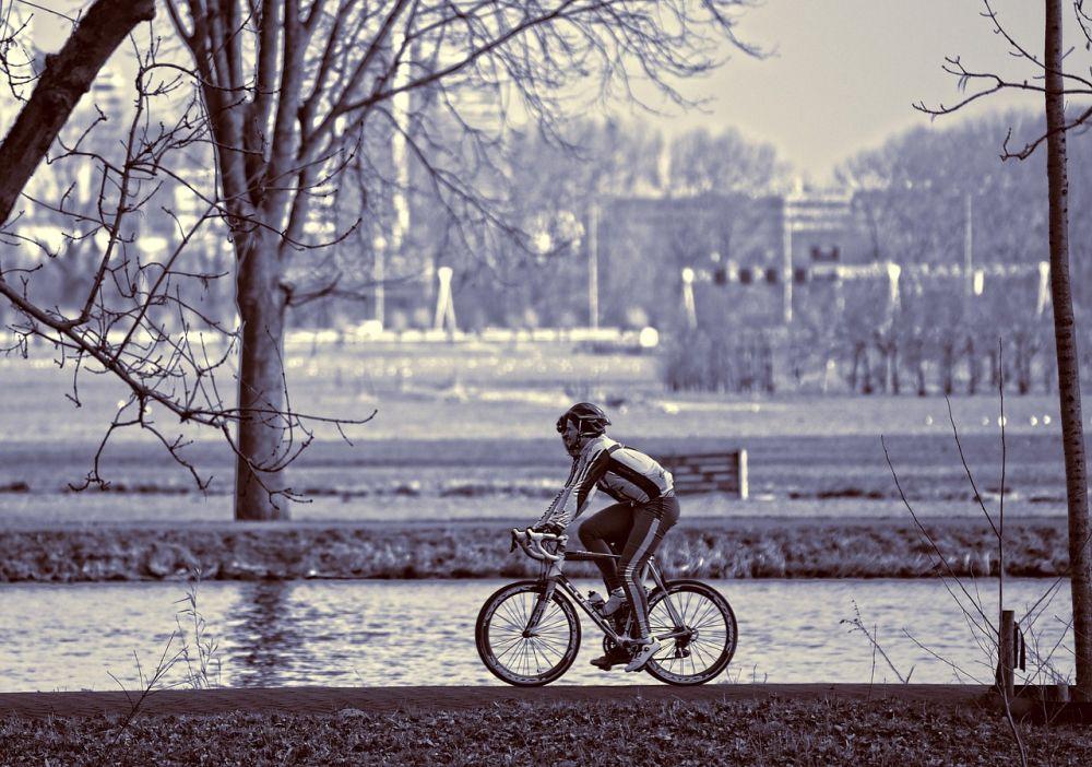 cyclistes en exterieur