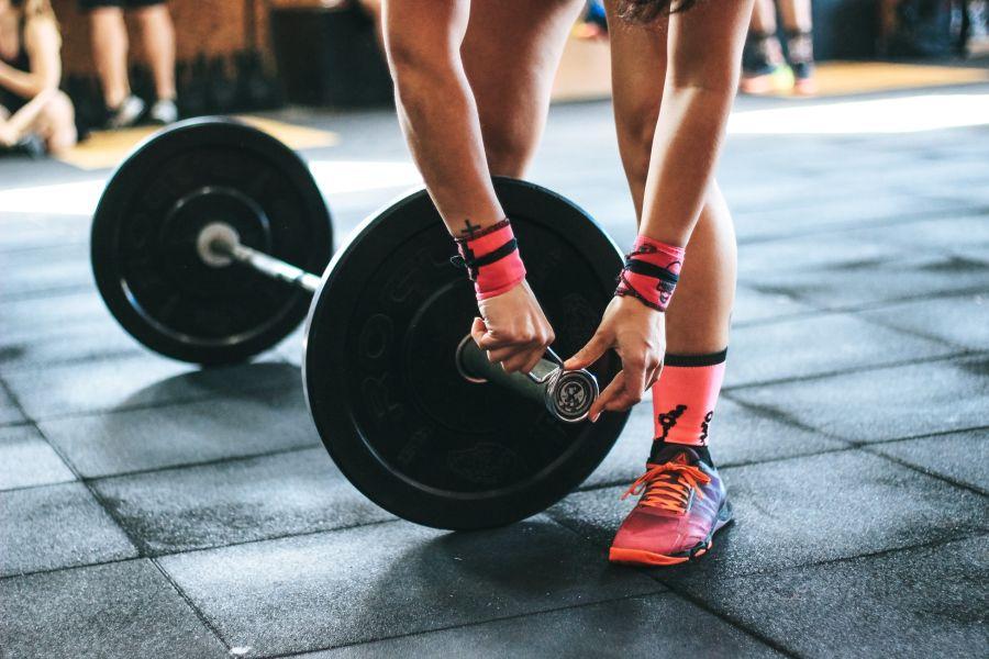 chaussures de cross training-femme