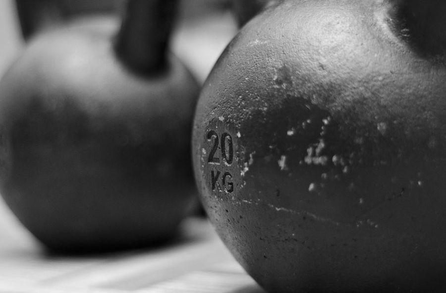 kettlebells de 20kg