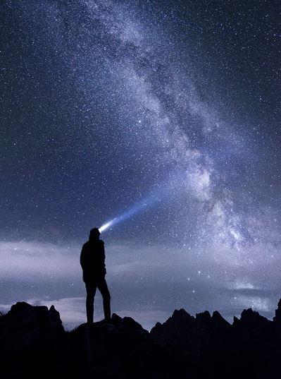 lampe randonnée nuit