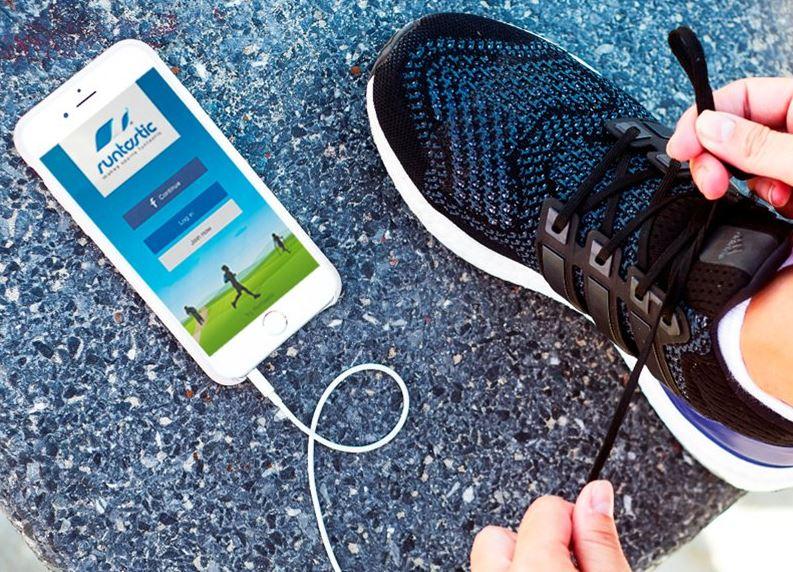 application Adidas running