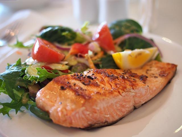 proteine de saumon pour le sport