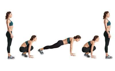 squat poussé