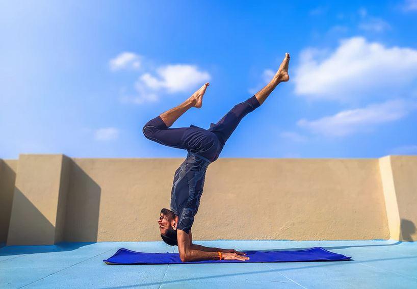 tapis yoga homme